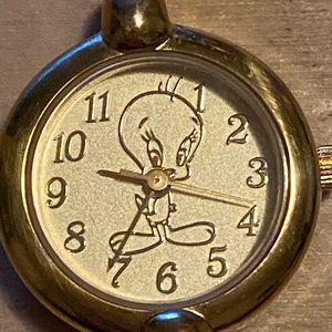 RARE Fossil Gold Tweety Bird Watch